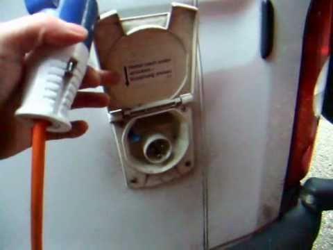 20. Self-Build DIY Camper Van. 240V AC electrics, consumer unit, inverter, and sockets