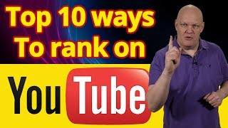 Video SEO - How to Rank on YouTube. Top 10 ways for VSEO ranking & video search engine optimization