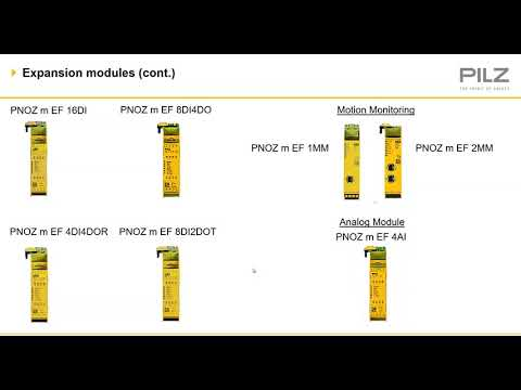 Pilz PNOZ Multi Configurable Relay Overview Training