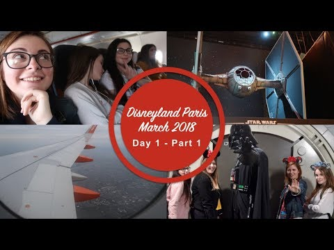 Disneyland Paris March 2018 | Day 1- Part 1 | Season of the Force