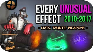 TF2: All Unusual Effects (2010-2017)