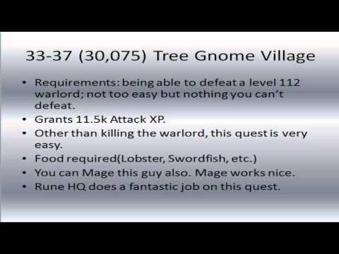 Ultimate 1-60 Attack Guide | 2007 Runescape