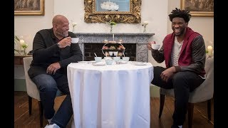 Afternoon Tea with Joel Embiid