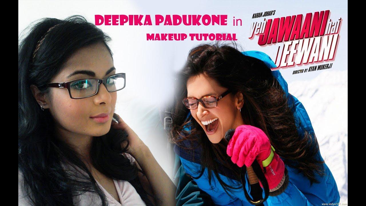 Deepika Padukone in YJHD | makeup for glasses | blue ...