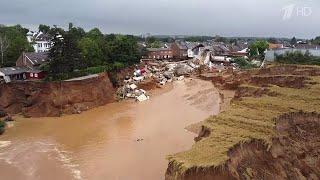В Германии увеличивается число погибших в результате сильнейшего наводнения.
