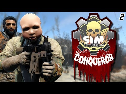 Fallout 4 Mods: Sim Settlements Conqueror   Part 2 - Takin Settlements! thumbnail