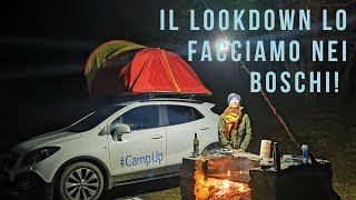 Lockdown - In viaggio con la macchina camperizzata riadattata all'inverno!