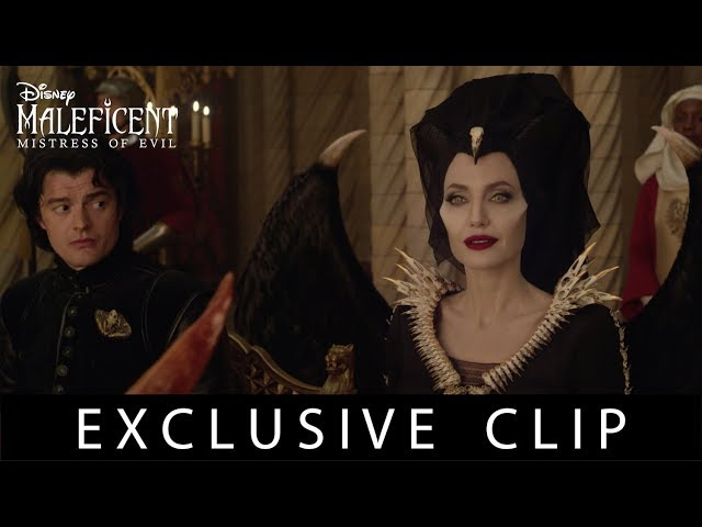 Maleficent Diaval Video Maleficent Diaval Clip