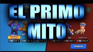 BRAWL STARS- ENCURRALADOS COM EL PRIMO!!