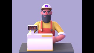Cashier 3D Gameplay | Mobile