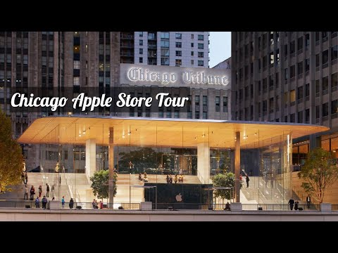 Apple Michigan Avenue Tour | Chicago Apple Store Tour | Apple Product Collections | IPhone | Mac