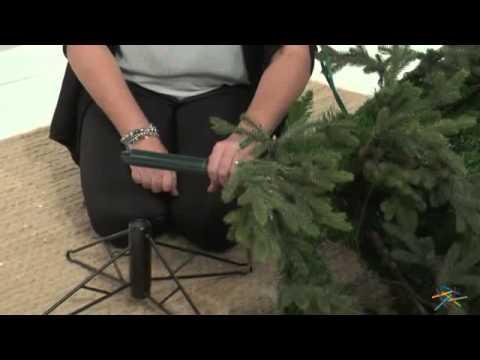 7 5 ft balsam fir pre lit christmas tree product review video - Pre Lit Christmas Tree Reviews