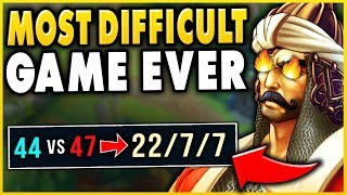 WTF! ONLY THE RANK 1 TRYND COULD 1V9 THIS GAME! (INSANE OUTPLAYS) S9 TRYNDAMERE - League of Legends