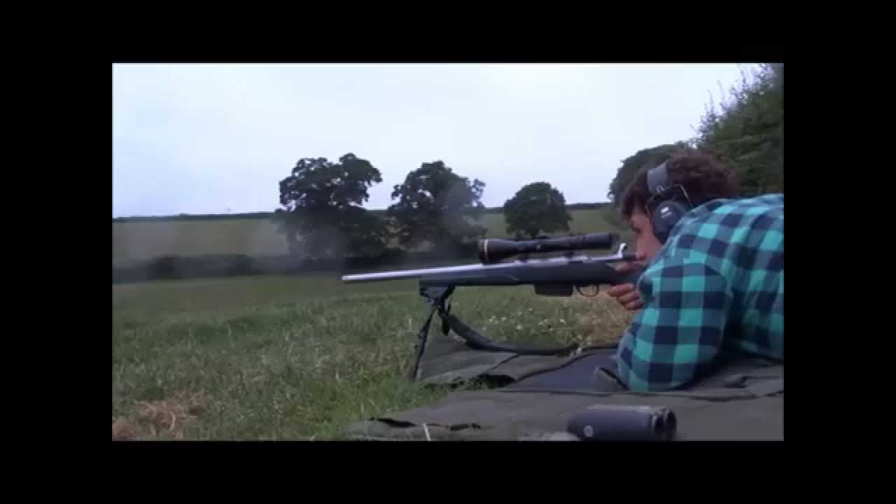 Fox Shooting - Bobs First Fox with his Tikka T3 Super Varmint in  223