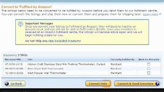 Tutorial How to create your first Amazon FBA shipment