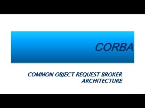 CORBA (Common Object Request Broker Architecture)