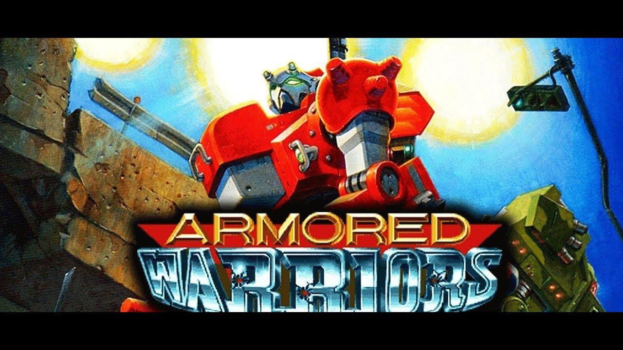 capcom armored warriors