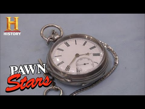 Pawn Stars: SELLER DELUSIONAL About Silver Watches Worth (Season 9) | History