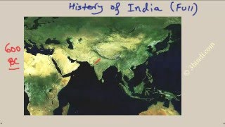 History of India -Complete in brief (in Hindi)- from ancient to Modern time