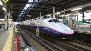 【東北新幹線】2019.7.12 やまびこ56号がE2系で運転