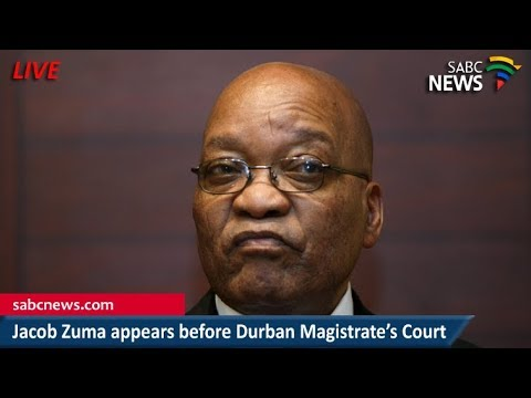 Jacob Zuma appears before the Durban Magistrate's Court, 06 April 2018