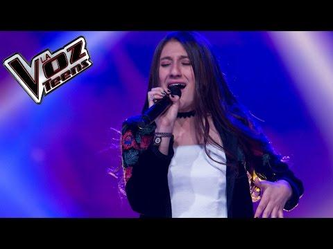 Laura Rubiano canta 'Hoy' | Audiciones a ciegas | La Voz Teens Colombia 2016