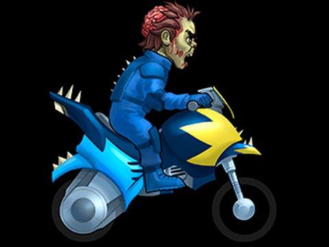 Ninja-zombie Bike -  Review - Speed & Features - Bike Race Tournaments
