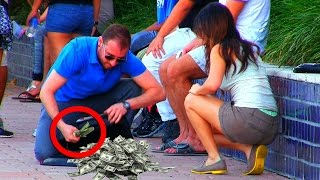 "Ultimate ""Rich Man"" GOLD DIGGER PRANKS - Top 5 Millionaire Pranks 2016"