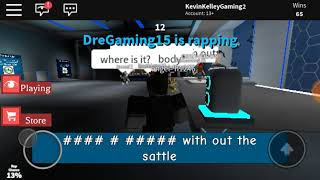 KKG Movie: Roblox: Auto Rap Battles #1