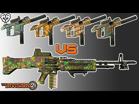Can 4 Vectors Beat My New LMG Build? Solo Occupied Dark Zone PvP - Division 2