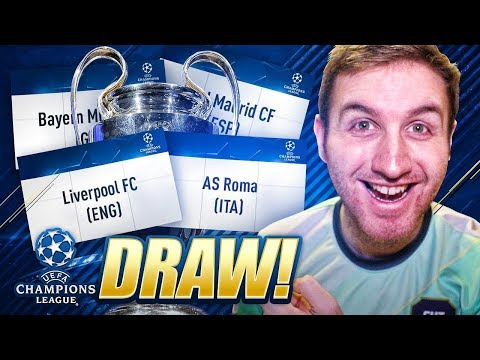 CHAMPIONS LEAGUE DRAW REACTION!