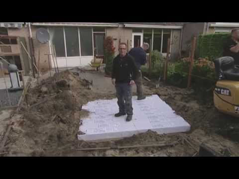Wateroverlast Tuin Kleigrond : Hydroblob drainage oplossing robs grote tuinverbouwing youtube