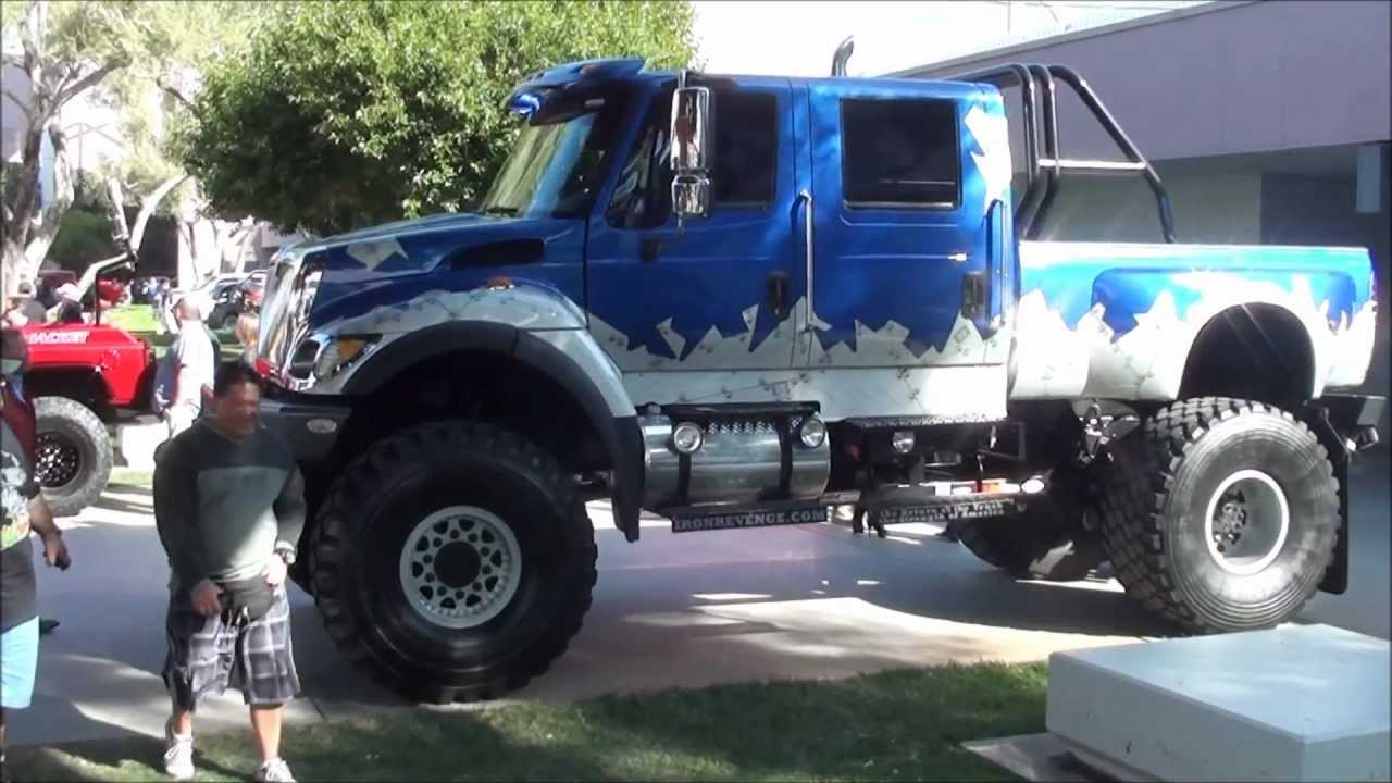 International quad cab diesel truck - YouTube