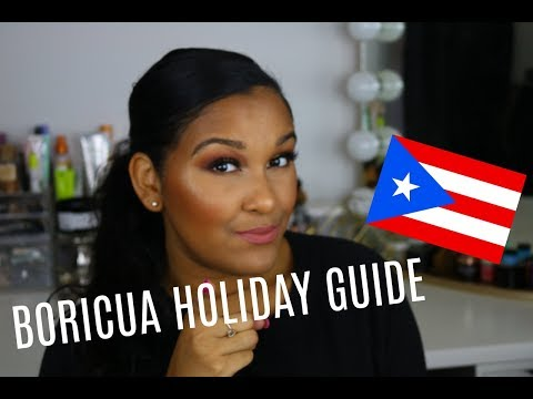GET READY FOR THE HOLIDAYS LIKE A PUERTO RICAN | Natalia Garcia