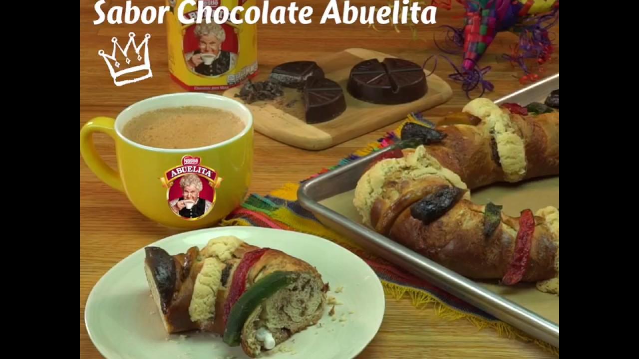 Cómo Hacer Rosca De Reyes Con Chocolate Abuelita