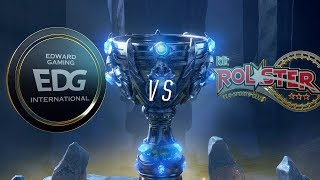 EDG vs KT | Worlds Group Stage Day 7 | Edward Gaming vs kt Rolster (2018)