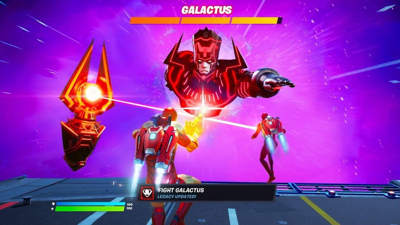 Galactus Live Event In Fortnite Update Youtube Fortnite is having a familiar enemy come crashing into the map soon enough, according to a galactus has his sights set on eating the world of fortnite, and according to new. galactus live event in fortnite update