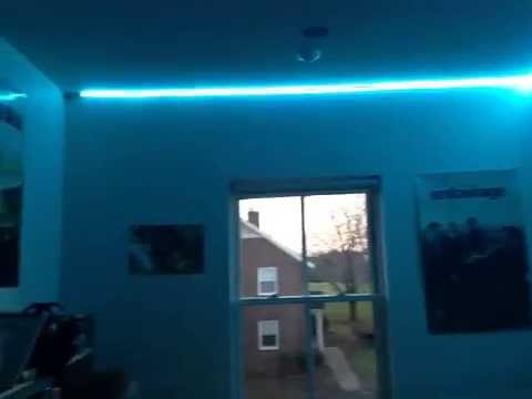 led lights in dorm room youtube. Black Bedroom Furniture Sets. Home Design Ideas