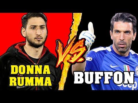 Donnarumma VS Buffon - Battaglia Rap Epica - Manuel Aski