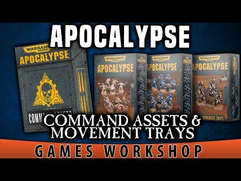 BoLS Unboxing | Command Assets & Movement Trays | Warhammer 40,000