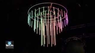 3D LED Crystal Chandelier