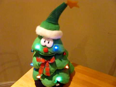 be959618a5847 Rockin Around The Christmas Tree - Singing Christmas Tree - YouTube