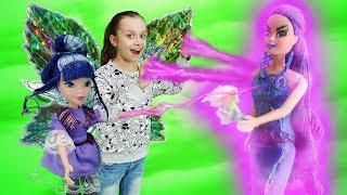 Феи Винкс клуб против злодейки. Видео для девочек: охотники за игрушками.