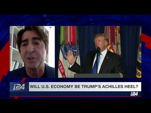 Tom Maoli i24 News Interview 12/21/18 The Economy Under Trump on The Spin Room
