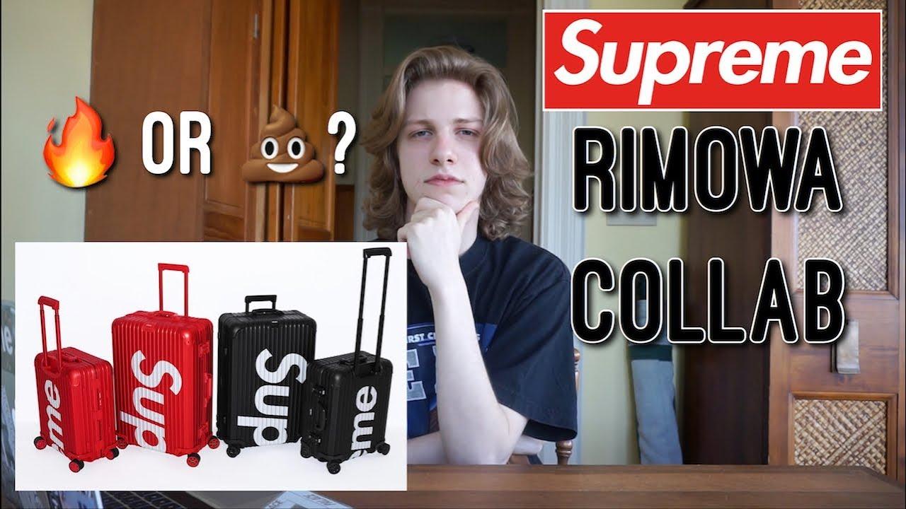 f8cb79bf2 Supreme x Rimowa Suitcase Collab Review! Supreme Week 8 S/S '18 Droplist!