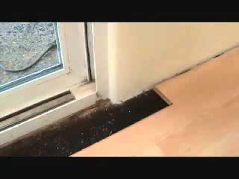 How To Install A Harmonics Laminate Flooring   Corner   YouTube
