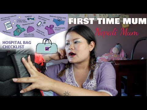 What's In My Hospital Bag First Time Mom/Before & After Review