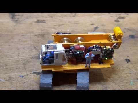 Liebherr H882 von Kibri auf RC mit Sound umgebaut