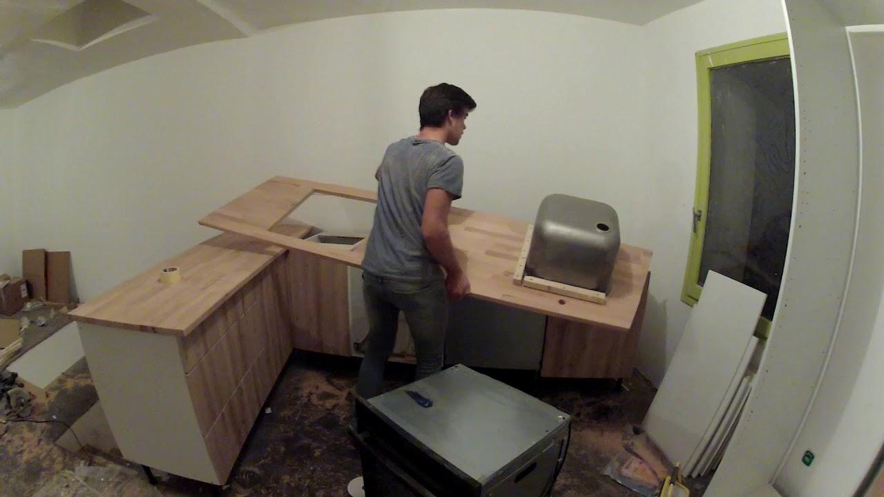 Plan De Travail Neoquartz poser un évier sous plan de travail (cuisine)