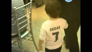 Khoảnh khắc xúc động khi cậu bé Haidar được gặp thần tượng Ronaldo của mình